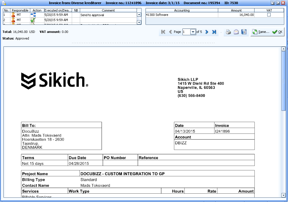 ADPCDK Find An Intelligent Invoice Processing Solution Here - Invoice received